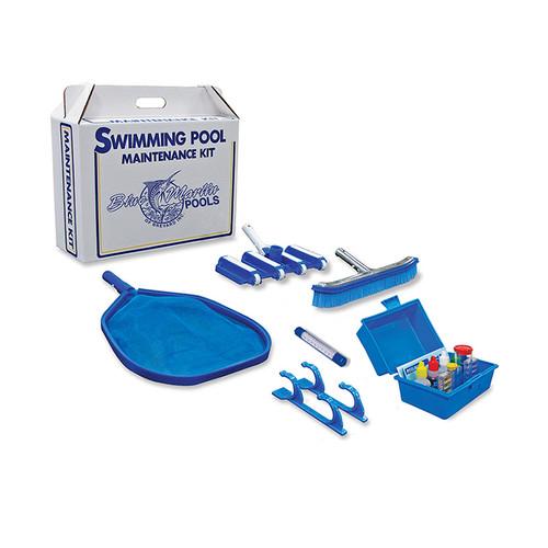 "18"" Blue 6-Pieces Swimming Pool Maintenance Kit - IMAGE 1"