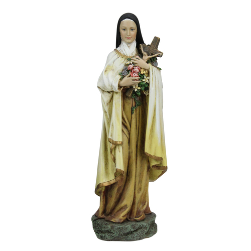 "10"" Joseph's Studio Renaissance Saint Therese Religious Figure - IMAGE 1"