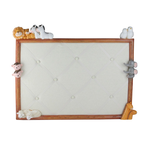 """22"""" Noah's Ark Children's Bedroom French-Style Memory Board Wall Decoration - IMAGE 1"""