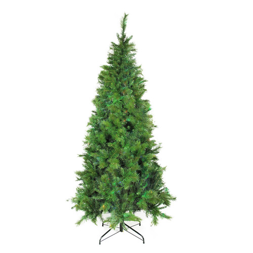 7.5' Medium Traditional Mixed Pine Artificial Christmas Tree - Unlit - IMAGE 1