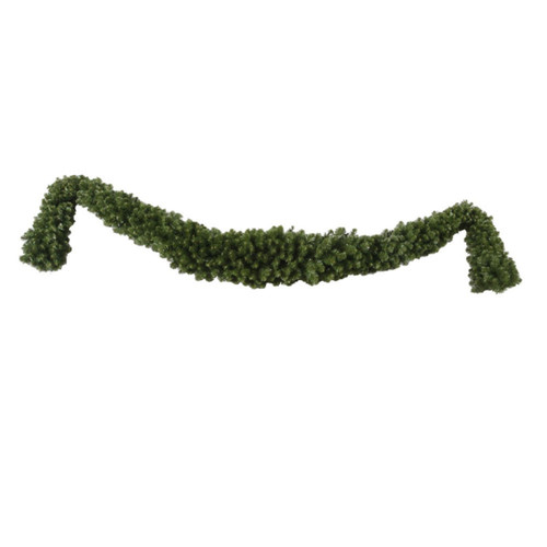 "12' x 18"" Green Grand Teton Artificial Christmas Garland - Unlit - IMAGE 1"