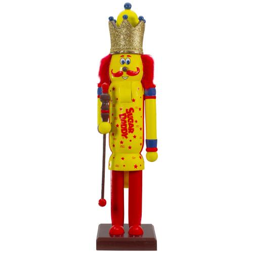 "14"" Tootsie Roll Sugar Daddy Wooden Christmas Nutcracker Figure - IMAGE 1"