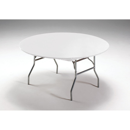 """Club Pack of 12 White Disposable Picnic Party Table Covers 60"""" - IMAGE 1"""