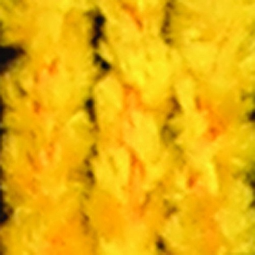 """Yellow Chenille Wired Craft Ribbon 0.25"""" x 110 Yards - IMAGE 1"""
