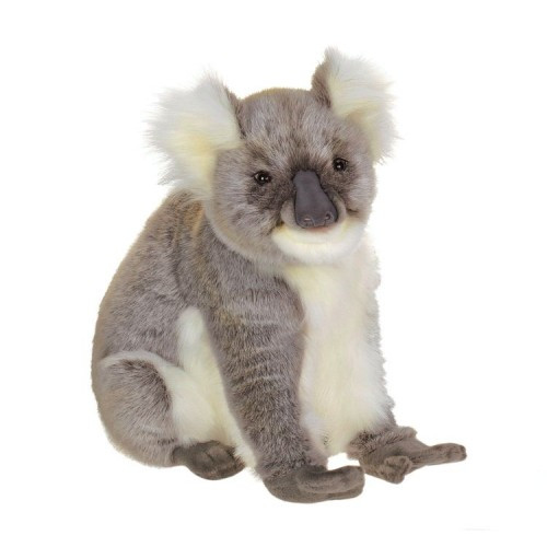"16.50"" Gray and White Handcrafted Plush Koala Bear Stuffed Animal - IMAGE 1"