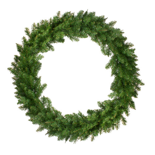Eastern Pine Artificial Christmas Wreath - 48-Inch, Unlit - IMAGE 1