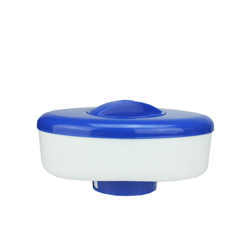"""9"""" Blue and White Floating Swimming Pool Chlorine Dispenser - IMAGE 1"""