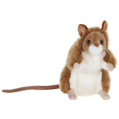 "Set of 4 Lifelike Handcrafted Extra Soft Plush German Mouse Stuffed Animals 6"" - IMAGE 1"
