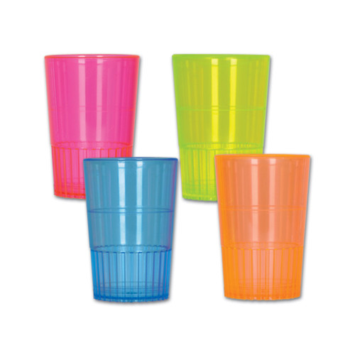 Club Pack of 96 Vibrantly Colored Shot Drinking Glasses 1.5 Oz. - IMAGE 1