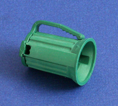 Club Pack of 100 C9 Green Christmas Light Bulb Sockets - For 18 Gauge Wire - IMAGE 1