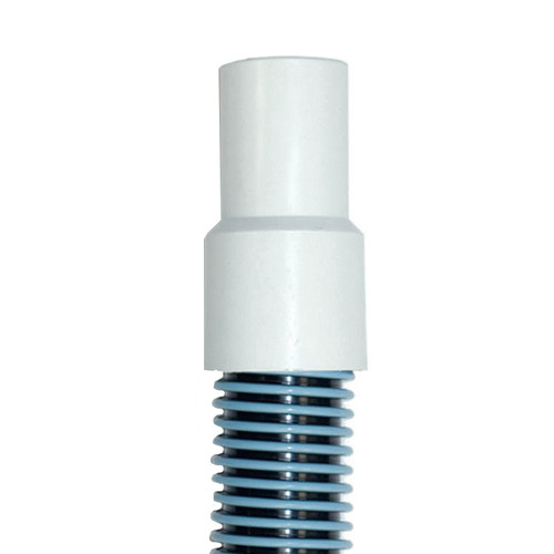 """Blue and White Spiral Wound Vacuum Swimming Pool Hose with Swivel Cuff 25' x 1.5"""" - IMAGE 1"""