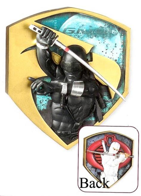 """4"""" Black and Yellow GI Joe Double Sided Christmas Ornament - IMAGE 1"""