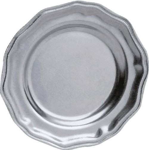Pack of 2 English Hand Crafted Statesmetal Dining Salad Plates 8 - IMAGE 1