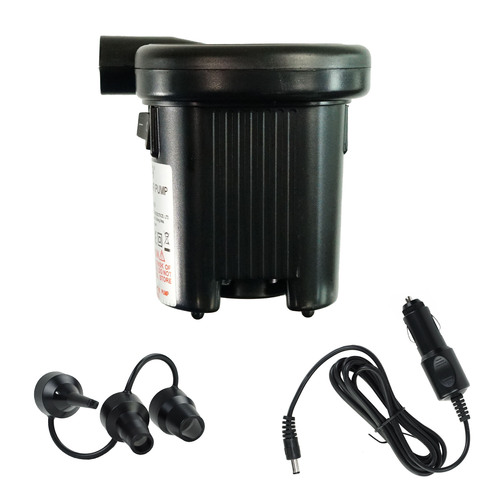 """5"""" Black Battery Operated Air Pump Swimming Pool Accessory - IMAGE 1"""