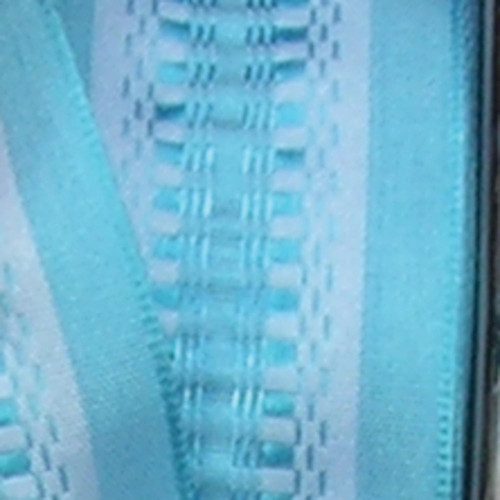 """Blue Checkered Woven Wired Craft Ribbon 1.5"""" x 54 Yards - IMAGE 1"""