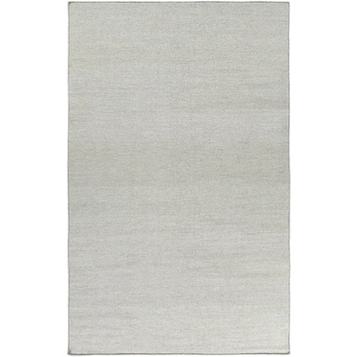 2' x 3' Sincere Fortunes Comfort Gray Hand Woven Wool Area Throw Rug - IMAGE 1