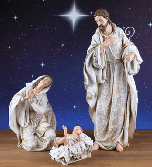 "3 Piece Holy Family Nativity Figures 22.5"" - IMAGE 1"