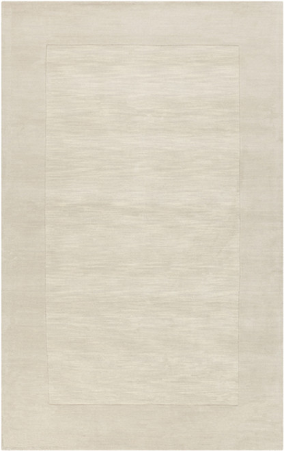 5' x 8' Magical Moments Ivory Hand Loomed Rectangular Wool Area Throw Rug - IMAGE 1