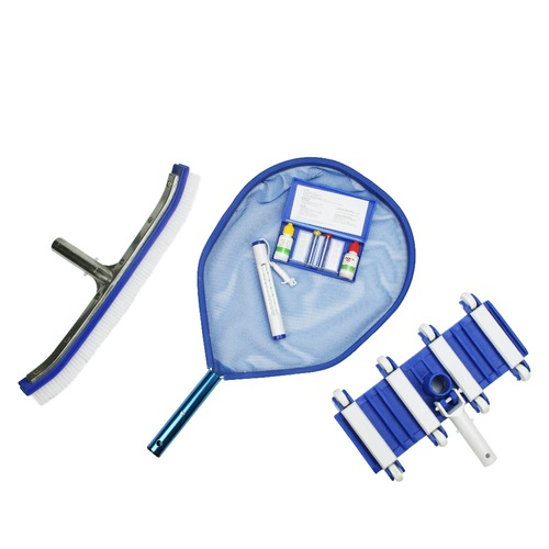 5-Piece Swimming Pool Vacuum Cleaning and Testing Kit - IMAGE 1