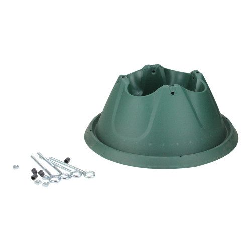 Jack Post Christmas Tree Stand: 8' Green Easy Watering Christmas Tree Stand