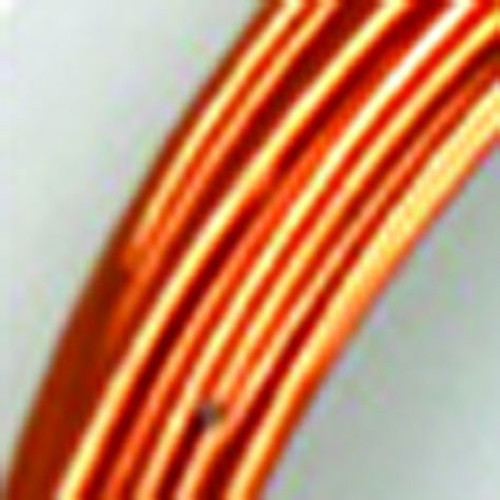 1mm Brown Copper Designer Aluminum Wire- Approximately 255 Yards - IMAGE 1