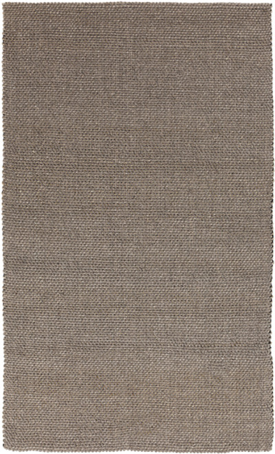 3.25' x 5.25' Tuscan Escape Gray Hand Woven Rectangular Wool Area Throw Rug - IMAGE 1