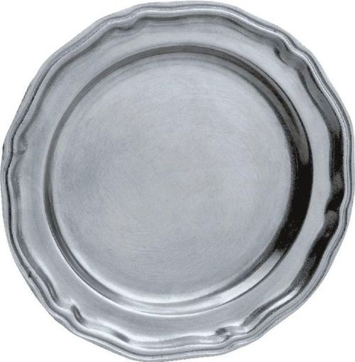 Pack of 2 English Hand Crafted Statesmetal Kitchen Dining Plates 10 - IMAGE 1