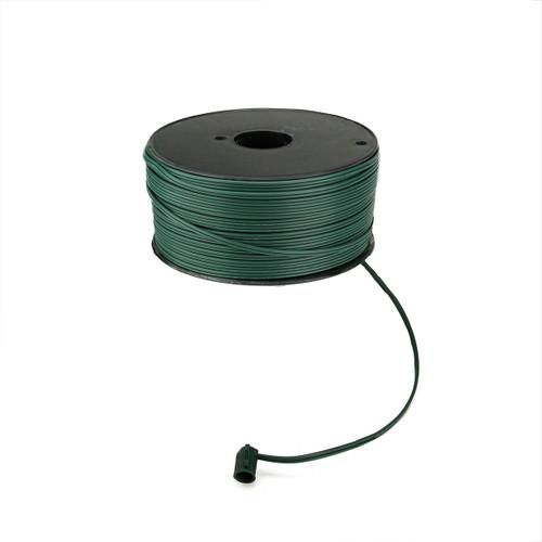 500' Green 18 Gauge C7 Christmas Wire Spool - IMAGE 1