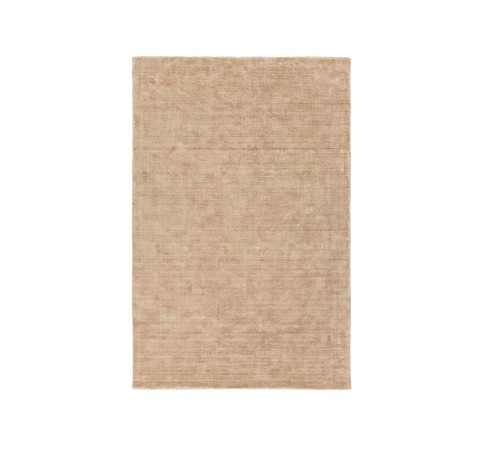 6' x 9' Camel Brown Abstract Hand Tufted Area Throw Rug - IMAGE 1