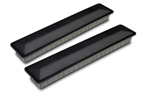 """Set of 6 Black Weight Cover Blocks for In-Ground Pool Winter Covers 37.5"""" - IMAGE 1"""
