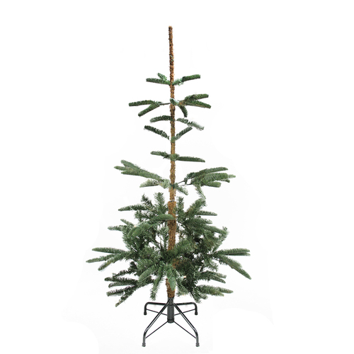 4.5' Slim Noble Fir Layered Artificial Christmas Tree - Unlit - IMAGE 1