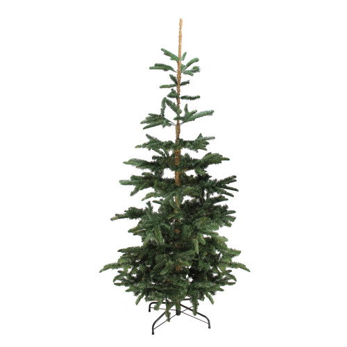 9' Green Slim Layered Noble Fir Artificial Christmas Tree - Unlit - IMAGE 1