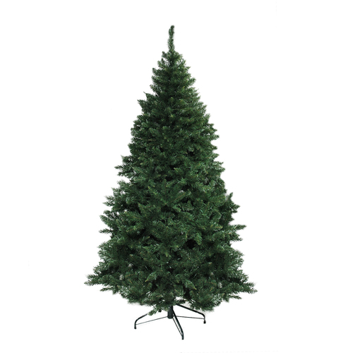 7.5' Green Buffalo Fir Full Artificial Christmas Tree - Unlit - IMAGE 1