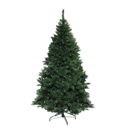 7.5' Green Buffalo Fir Full Artificial Christmas Tree - Unlit - IMAGE 1