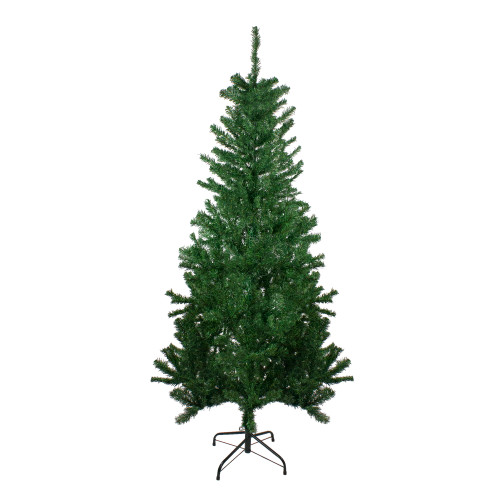 6' Medium Mixed Green Pine Artificial Christmas Tree - Unlit - IMAGE 1