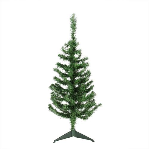 3' Medium Mixed Green Pine Artificial Christmas Tree - Unlit - IMAGE 1