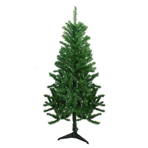 5' Medium Mixed Green Pine Medium Artificial Christmas Tree - Unlit - IMAGE 1