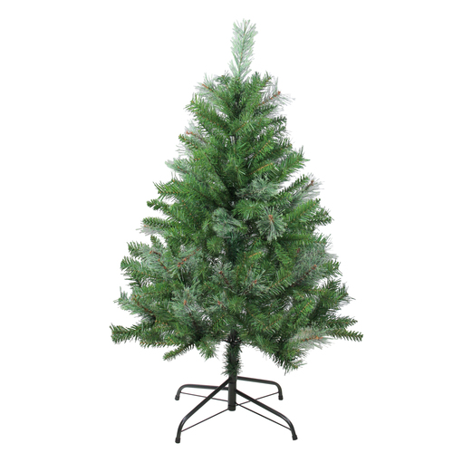 4' Mixed Cashmere Pine Medium Artificial Christmas Tree - Unlit - IMAGE 1