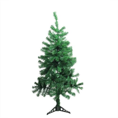 4' Medium Mixed Green Pine Artificial Christmas Tree - Unlit - IMAGE 1