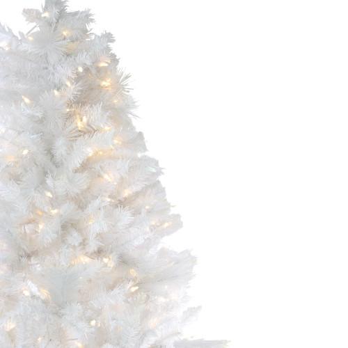 Multi Color Pre Lit Christmas Trees: 7.5' Pre-Lit Medium Iridescent Pine Artificial Christmas
