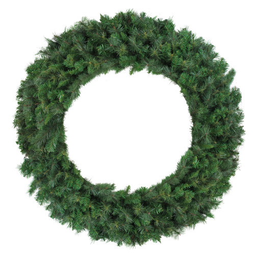 Mixed Canyon Pine Artificial Christmas Wreath - 60-Inch, Unlit - IMAGE 1