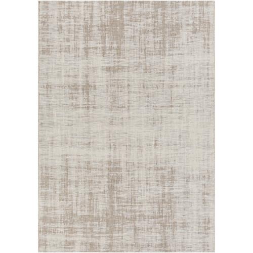 7.75' x 10.75' Classic Luxury Gray and Beige Rectangular Area Throw Rug - IMAGE 1