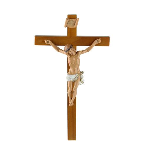 "Fontanini 12"" Religious Wooden Crucifix Wall Cross #0250 - IMAGE 1"