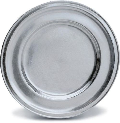 """Pack of 2 Classic Hand Crafted Statesmetal Kitchen Dining Plates 10.5"""" - IMAGE 1"""