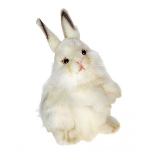 Set of 3 White Handcrafted Plush Baby White Rabbit Stuffed Animals 12.50'' - IMAGE 1