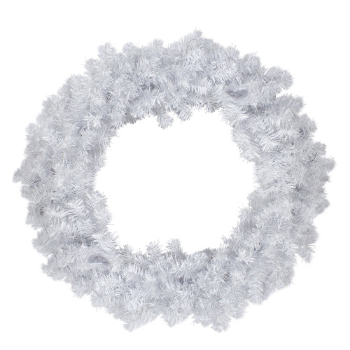 Crystal Spruce Artificial Christmas Wreath - 36-Inch, Unlit - IMAGE 1