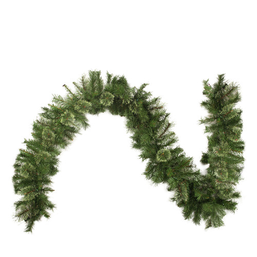 """50' x 14"""" Cashmere Mixed Pine Commercial Artificial Christmas Garland - Unlit - IMAGE 1"""