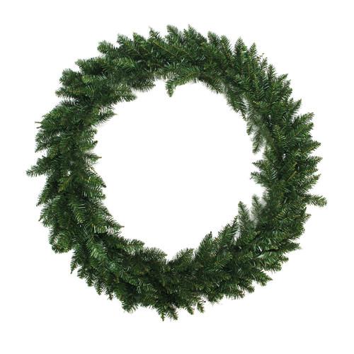 Green Buffalo Fir Artificial Christmas Wreath - 72-Inch, Unlit - IMAGE 1