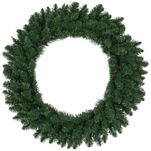 Buffalo Fir Artificial Christmas Wreath - 30-Inch, Unlit - IMAGE 1
