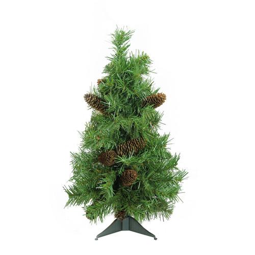 2' Full Dakota Pine Artificial Christmas Tree - Unlit - IMAGE 1